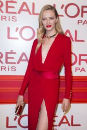Daria Strokous – L'Oreal Red Obsession Party – Paris Fashion Week 3/8/2016