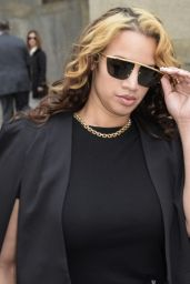 Dascha Polanco At Centre Street Criminal Court In Manhattan, March 2016