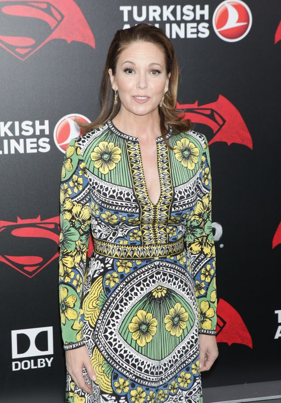 Diane Lane – 'Batman v Superman: Dawn of Justice' Premiere in New York City