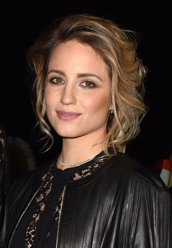 Dianna Agron - Elie Saab Fashion Show in Paris, March 2016