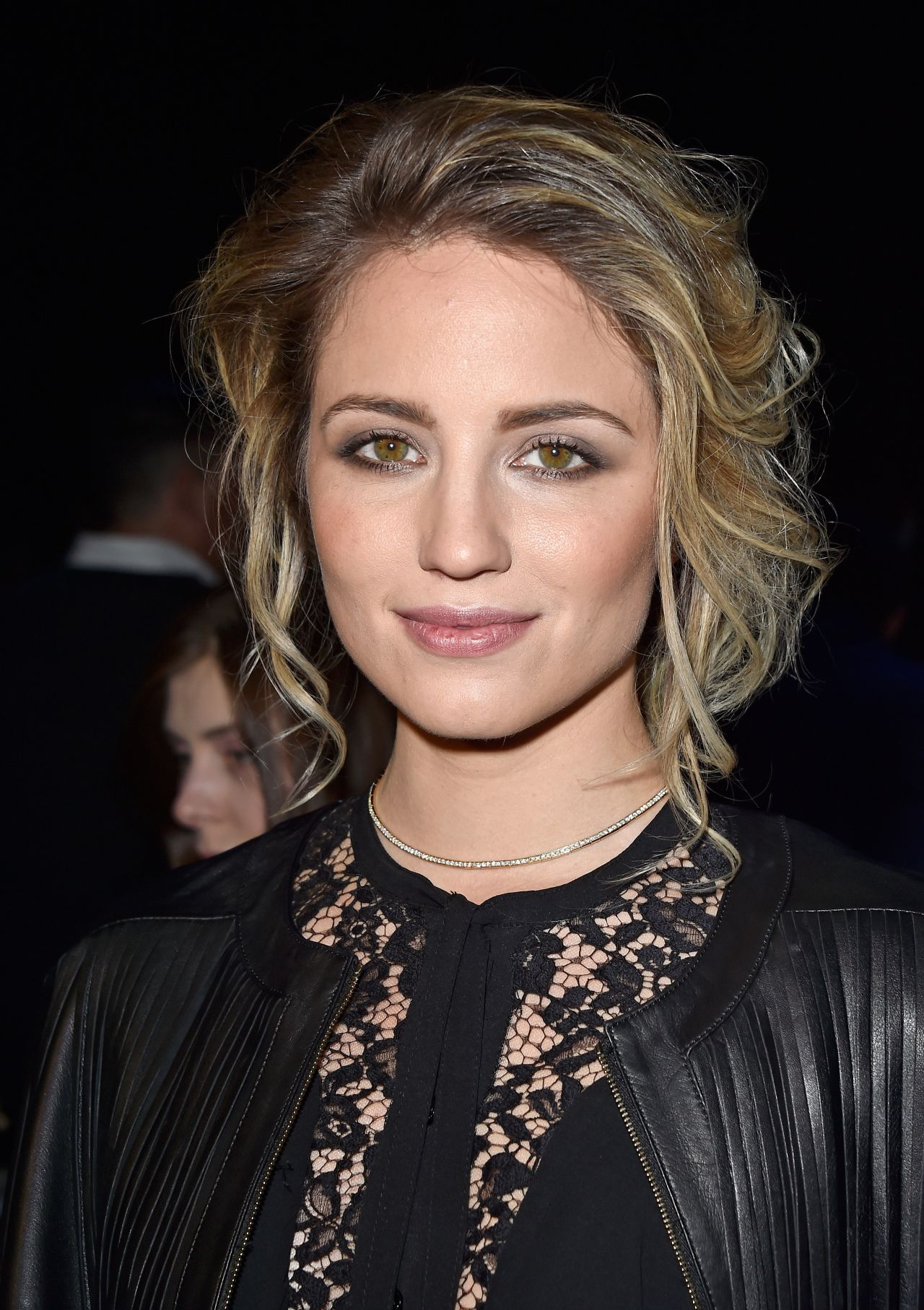 Dianna Agron Elie Saab Fashion Show In Paris March 2016