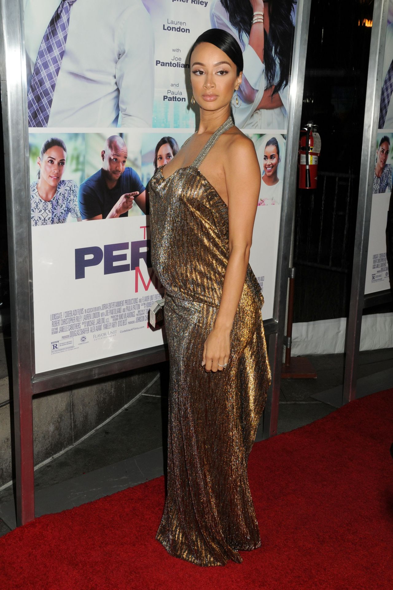 draya michele - 'the perfect match' premiere in los angeles