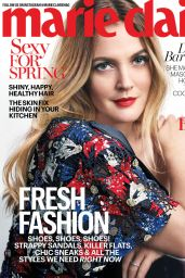 Drew Barrymore - Marie Claire Magazine US April 2016