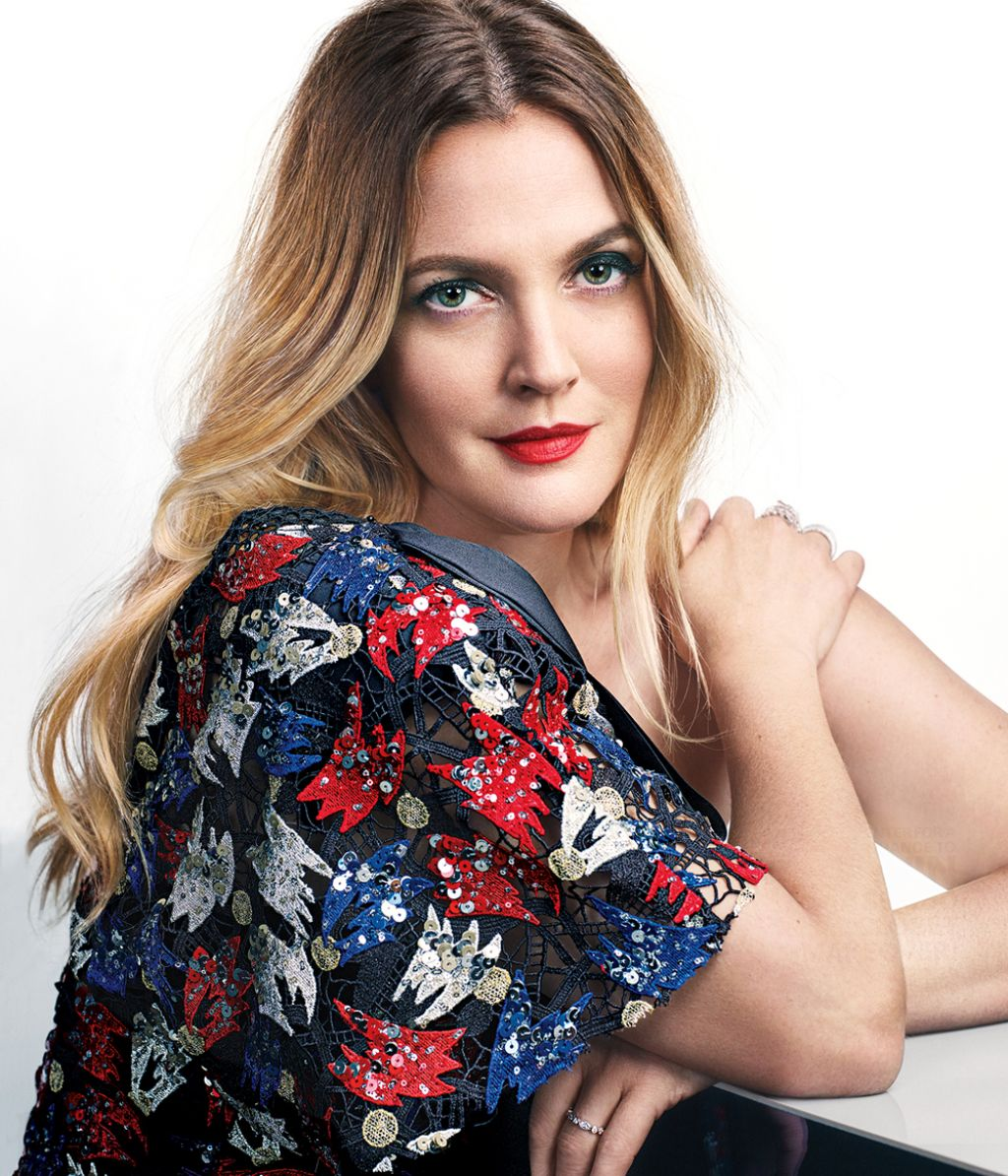 Drew Barrymore – Photoshoot for Marie Claire Magazine April 2016 Drew Barrymore