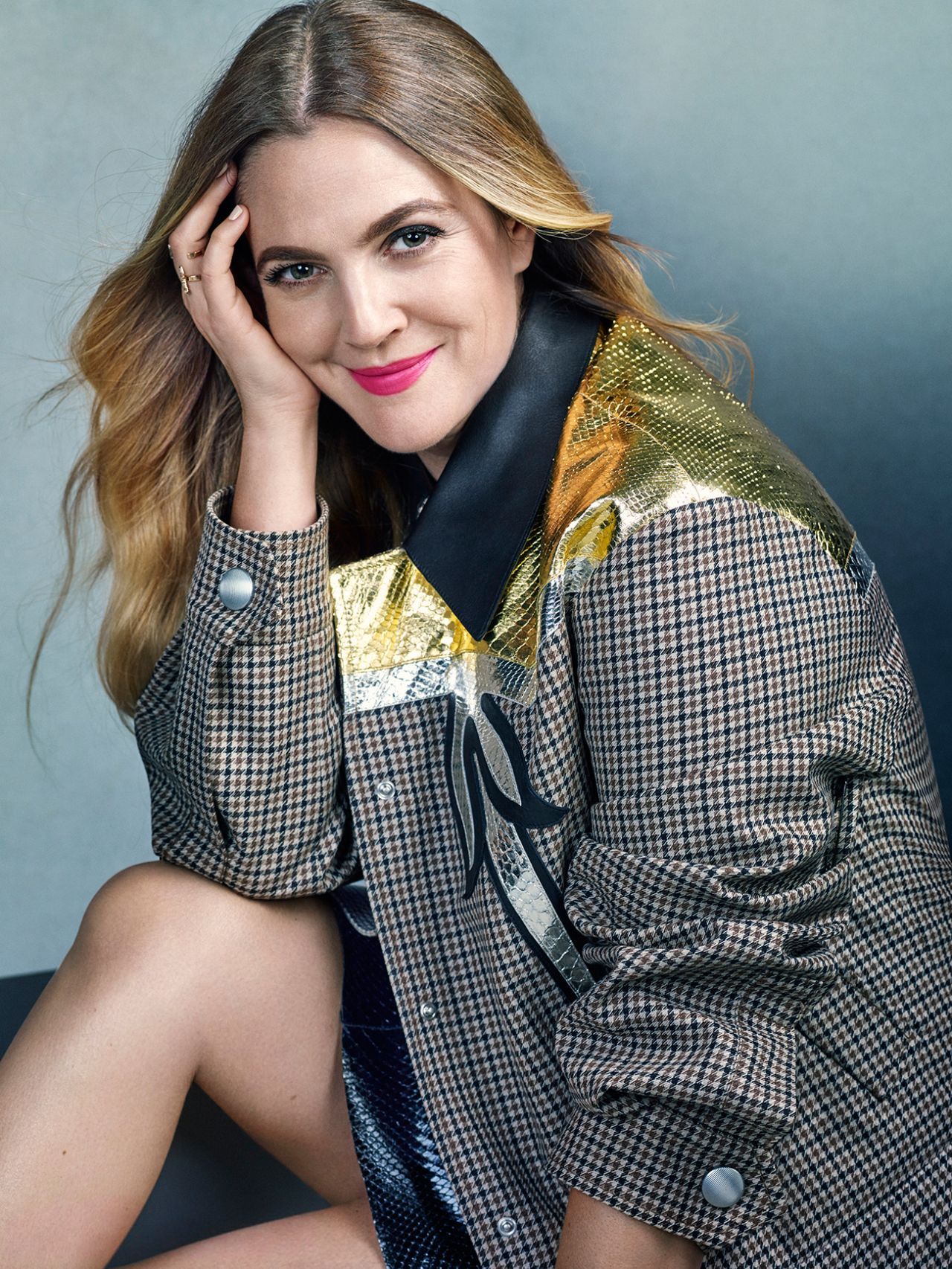 Drew Barrymore Photoshoot For Marie Claire Magazine