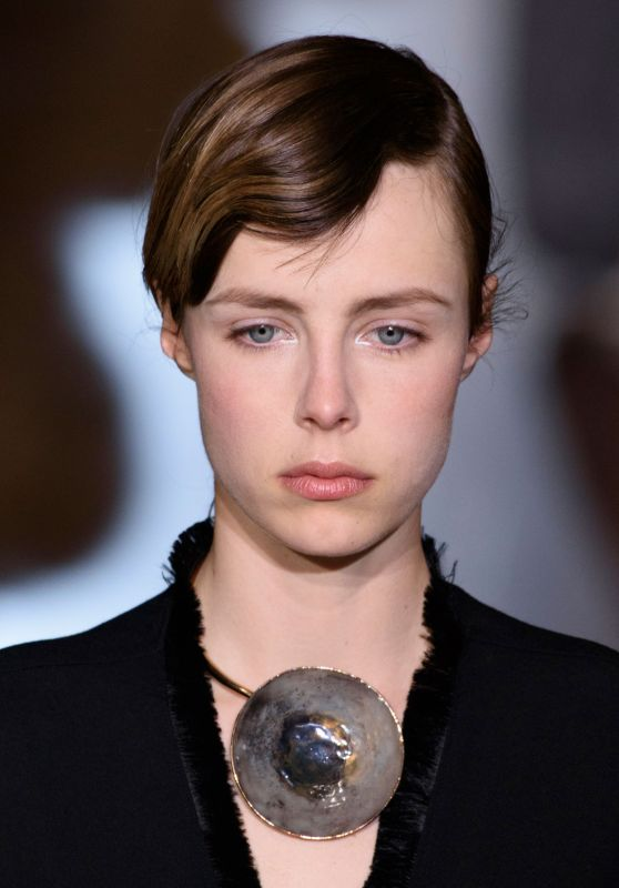 Edie Campbell - Stella McCartney Fashion Show in Paris, March 2016