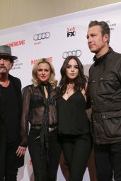 Elizabeth Gillies and Elaine Hendrix – 'The Americans' Season 4 Premiere in New York City