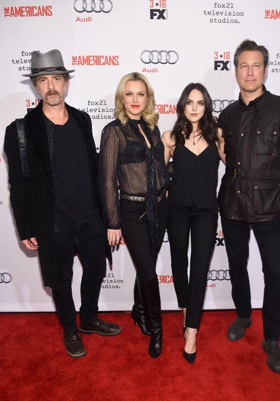 Elizabeth Gillies and Elaine Hendrix – 'The Americans' Season 4 Premiere in New York City