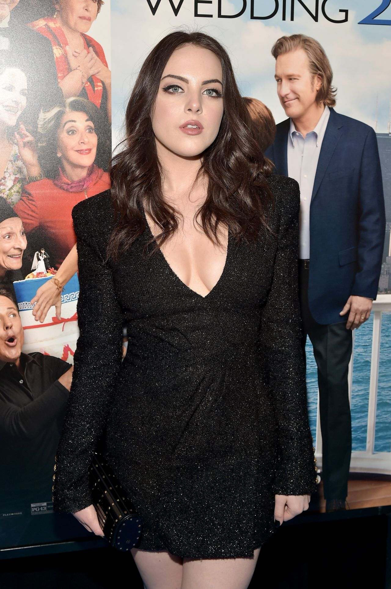 My Big Fat Greek Wedding 2.Elizabeth Gillies My Big Fat Greek Wedding 2 Premiere In