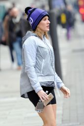 Ellie Goulding - Leaving a Gym in London 3/15/2016