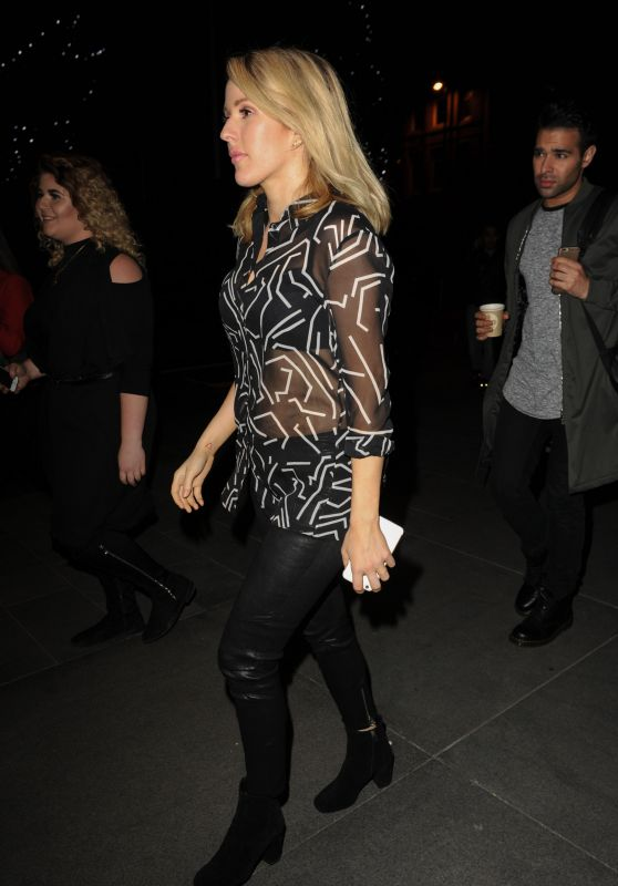 Ellie Goulding - Night Out in Manchester, UK 3/19/2016