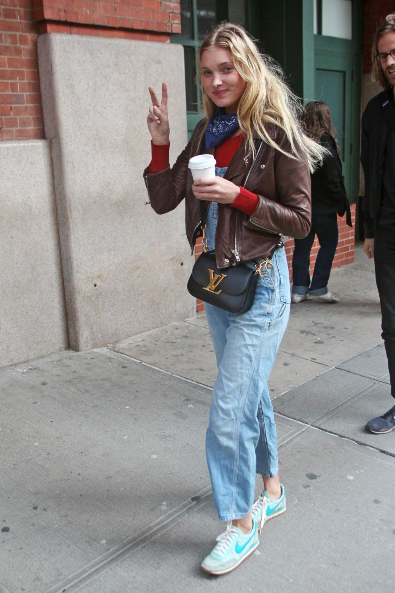 Elsa Hosk New York City Street Style March 2016