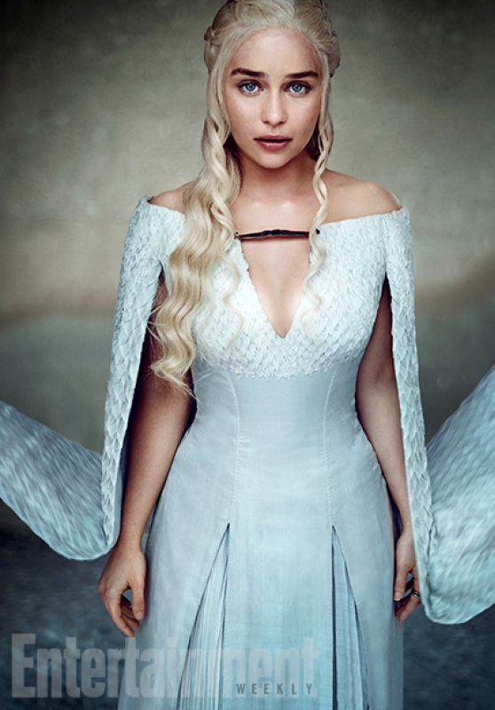 Emilia Clarke - Entertainment Weekly Photoshoot for