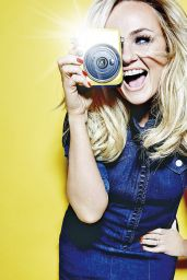 Emma Bunton - Fabulous Magazine February 28, 2016 Cover and Pics