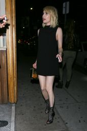 Emma Roberts Arrives For an Evening Out at The Nice Guy in West Hollywood 3/12/2016