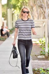 Emma Roberts Casual Style - Out in Los Angeles, 03/15/2016