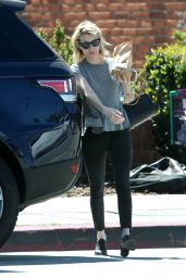 Emma Roberts Out in Los Angeles 3/23/2016
