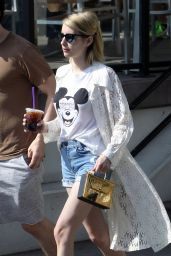 Emma Roberts - Out in Los Angeles, CA 3/18/2016