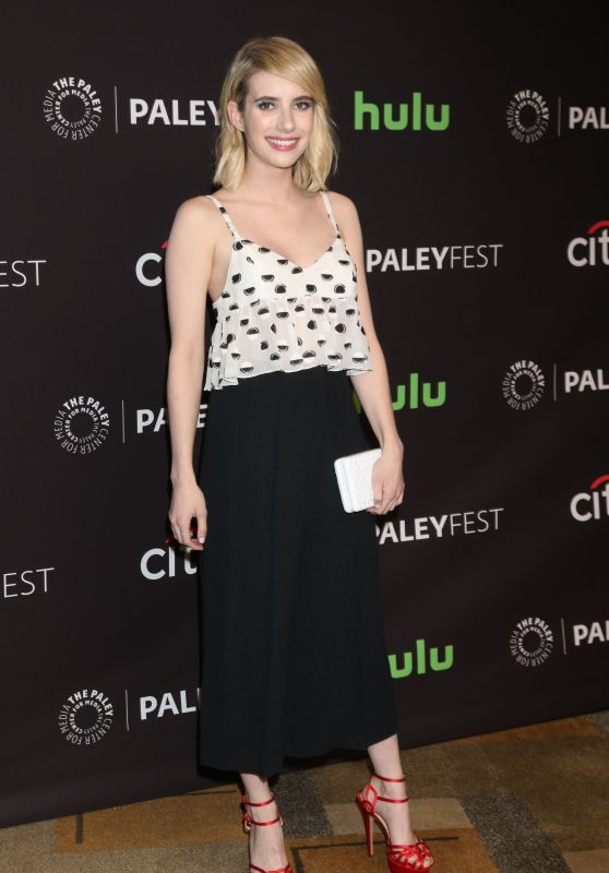 Emma Roberts – 'Scream Queens' Screening in Los Angeles – 2016 PaleyFest Los Angeles