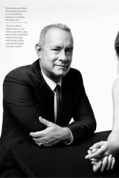 Emma Watson and Tom Hanks - Esquire Magazine UK, April 2016 Issue