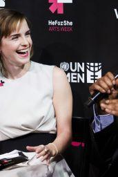 Emma Watson - HeForShe Art Week Launch in New York City 3/8/2016