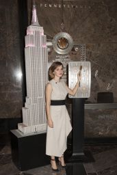 Emma Watson Lights The Empire State Building for International Women