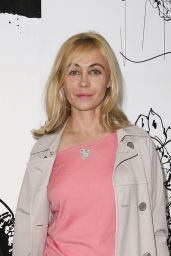 Emmanuelle Beart – Paul & Joe Fashion Show in Paris – Autumn Winter 2016