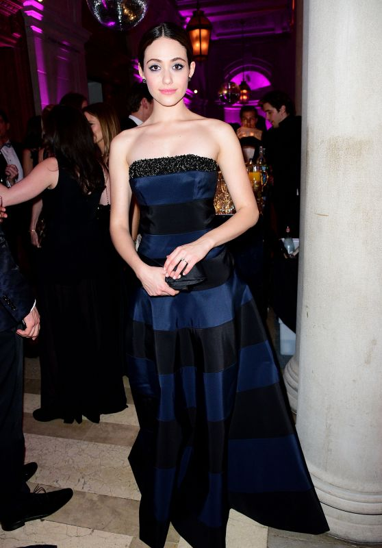Emmy Rossum - 2016 Ball Presented by The Young Fellows of the Frick Collection in New York City, March 2016