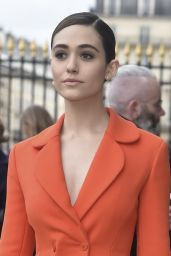 Emmy Rossum - Christian Dior Paris Fashion Week - March 4th, 2016