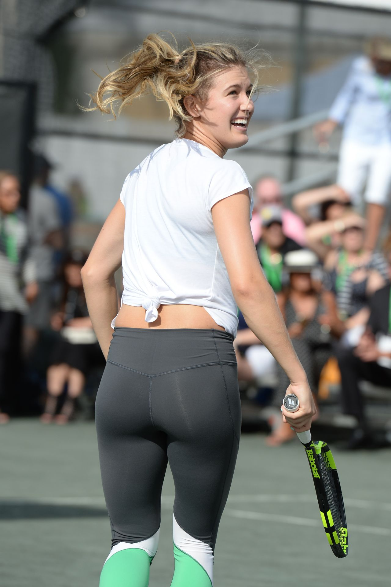 Eugenie Bouchard, Serena Williams  Chris Evert - All Star Tennis Event, The Miami -4351