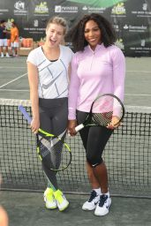 Eugenie Bouchard, Serena Williams & Chris Evert - All Star Tennis Event, The Miami Open 2016
