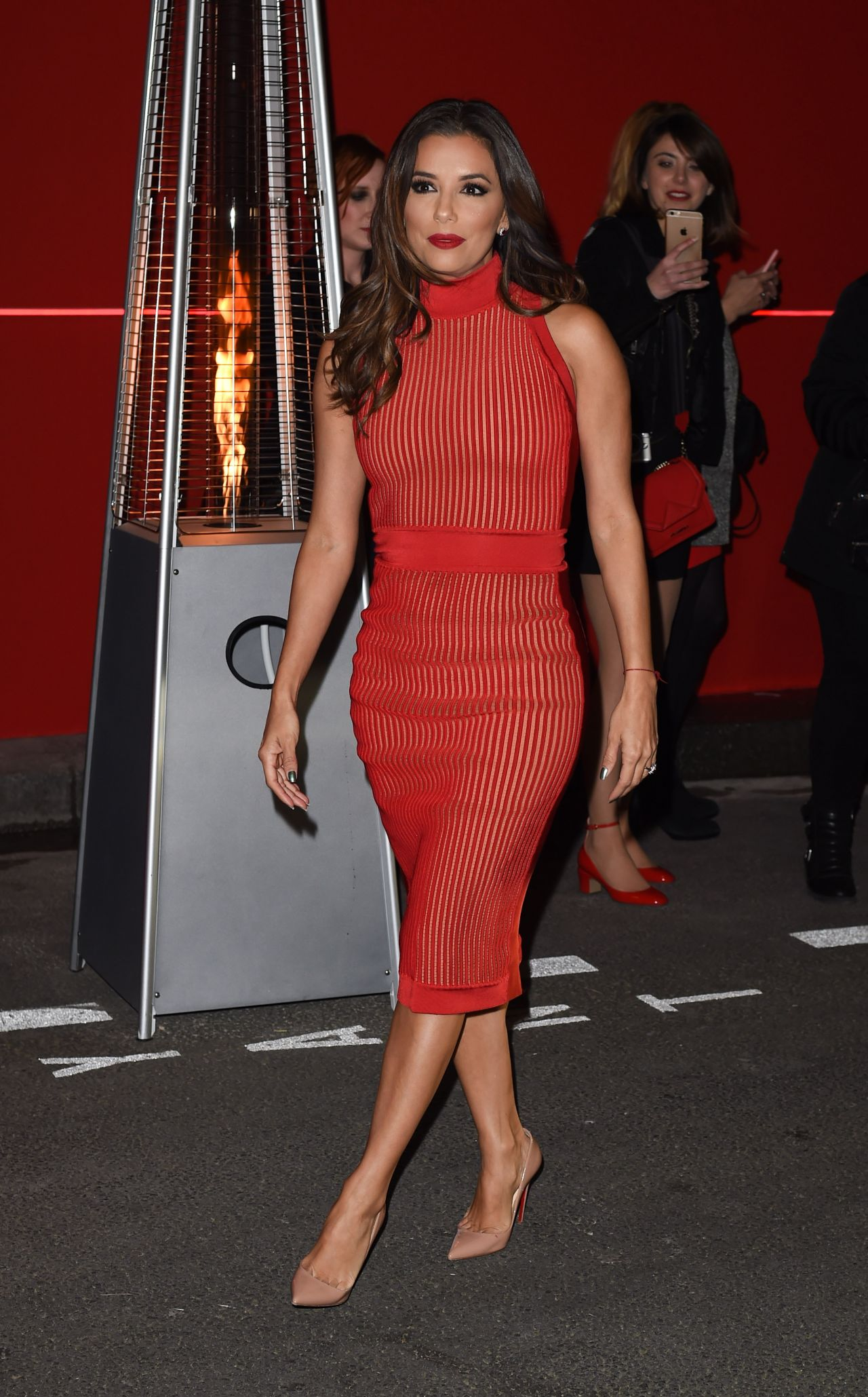 Eva Longoria L Oreal Red Obsession Party In Paris 3 8 2016