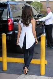 Eva Longoria - Leaving Cafe Versailles Cuban Restaurant in Little Havana, Miami 3/10/2016