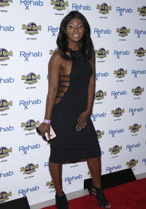 Faith Stowers - Rehab Beach Club at The Hard Rock Hotel and Casino Las Vegas 3/26/2016