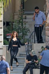 Farrah Abraham and Simon Saran Eye-up a Luxury Property in the Hollywood Hills 3/1/2016