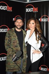 Farrah Abraham - Interviews Nik Ritchie on PodcastOne in Los Angeles, March 2016