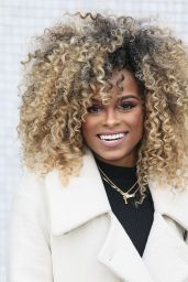 Fleur East - Outside ITV Studios in London, March 2016