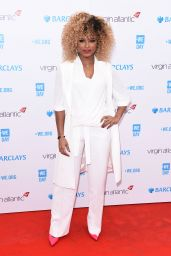 Fleur East – We Day UK 2016 Held at SSE Arena Wembley, London