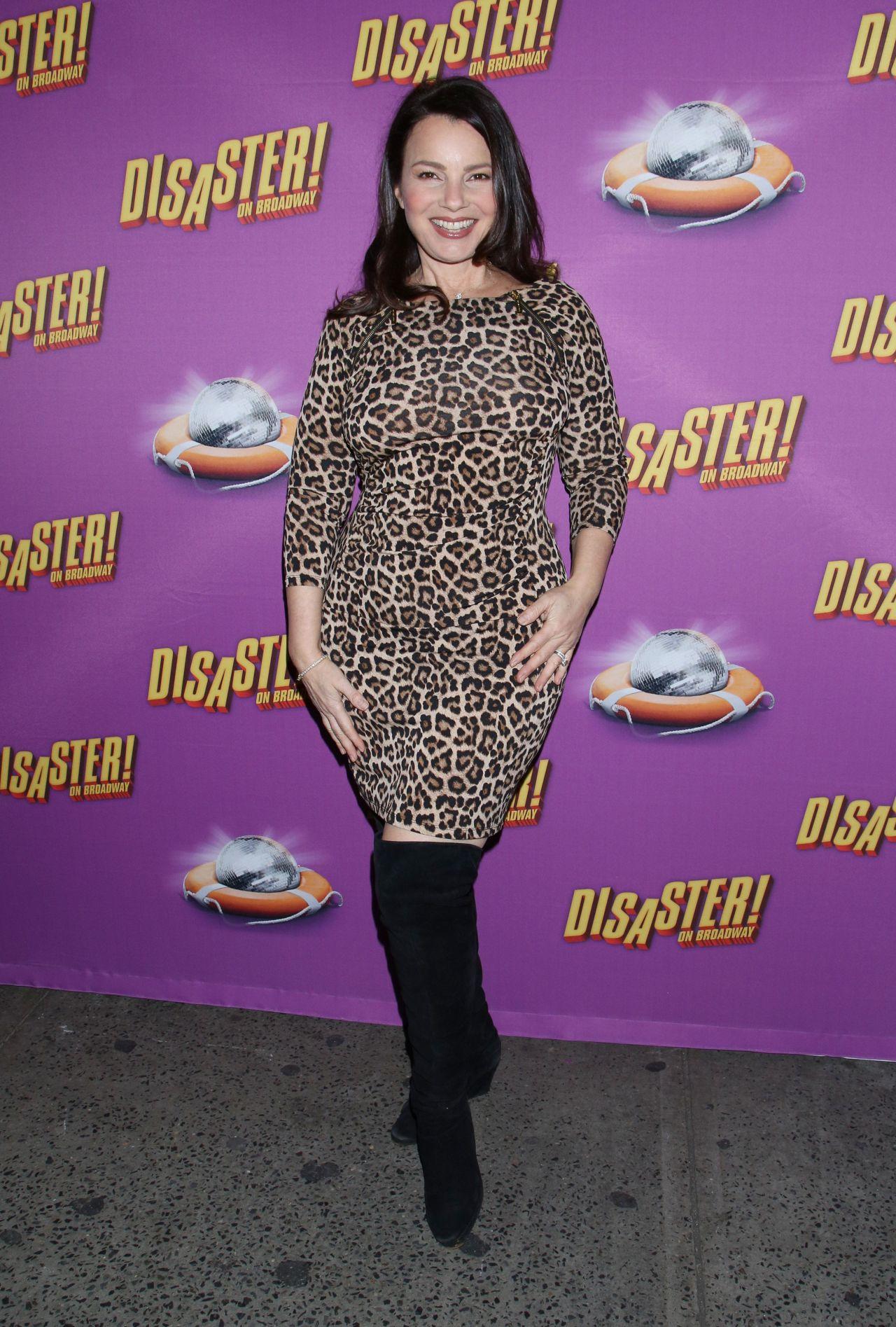 Fran Drescher Disaster Musical Opening Night On
