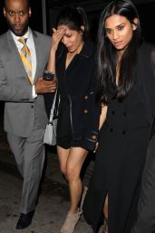 Freida Pinto Night Out Style - Leaving The Nice Guy in West Hollywood, March 2016