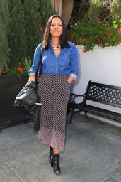 Garcelle Beauvais Is Looking Ready for Spring in Beverly Hills 3/7/2016