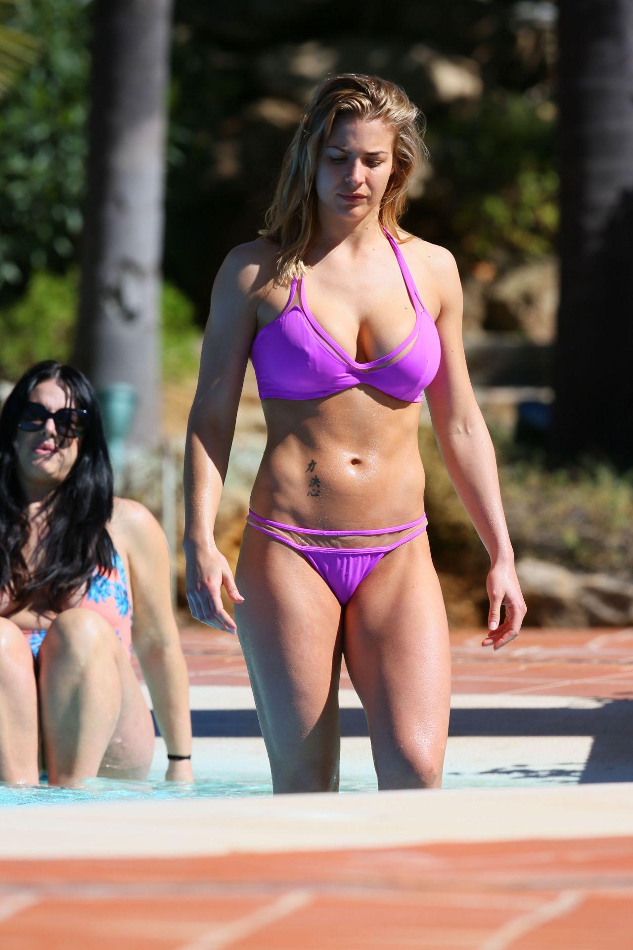 Gemma Atkinson Bikini Pics Marbella Spain March 2016