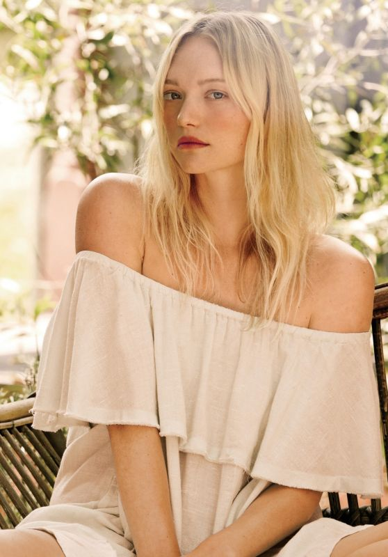 Gemma Ward - Free People March 2016 Pics