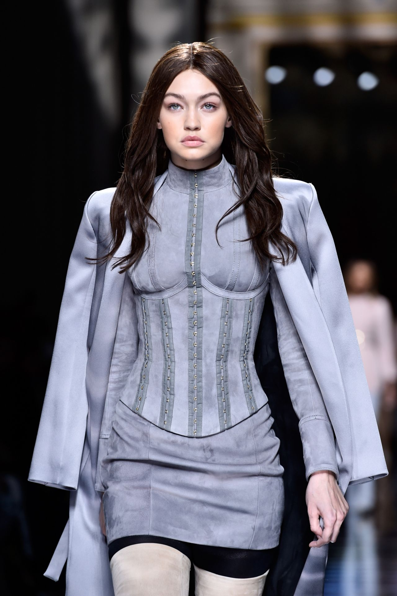 Gigi Hadid - Balmain Fashion Show