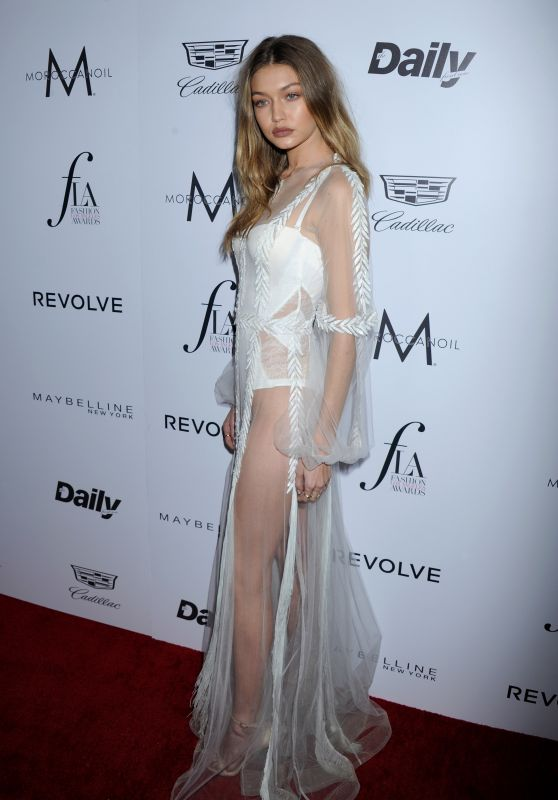 Gigi Hadid – Daily Front Row's Fashion Los Angeles Awards 2016 in West Hollywood