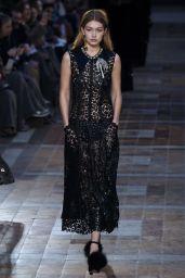 Gigi Hadid - Giambattista Valli Fashion Show in Paris, March 2016