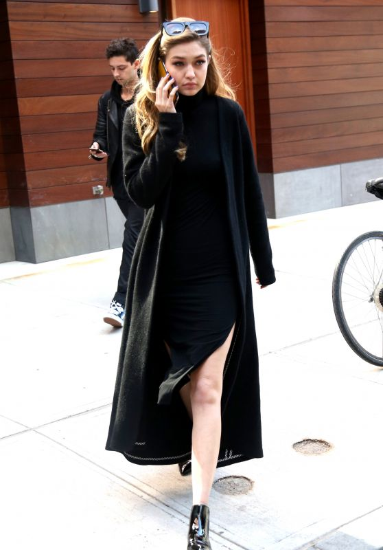 Gigi Hadid - Out in New York City, 3/30/2016