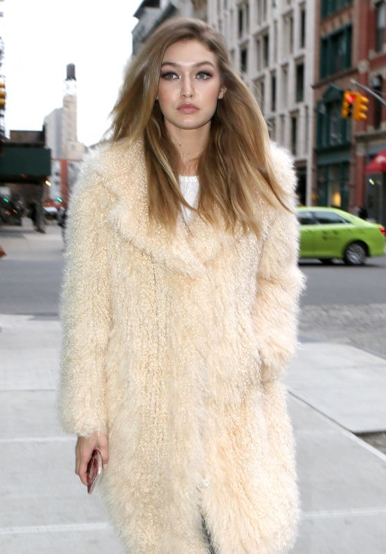 Gigi Hadid - Out in New York City, NY 3/18/2016