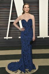 Gillian Jacobs - 2016 Vanity Fair Oscar Party in Beverly Hills, CA