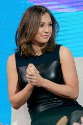 Ginger Zee - Tapes a Segment for